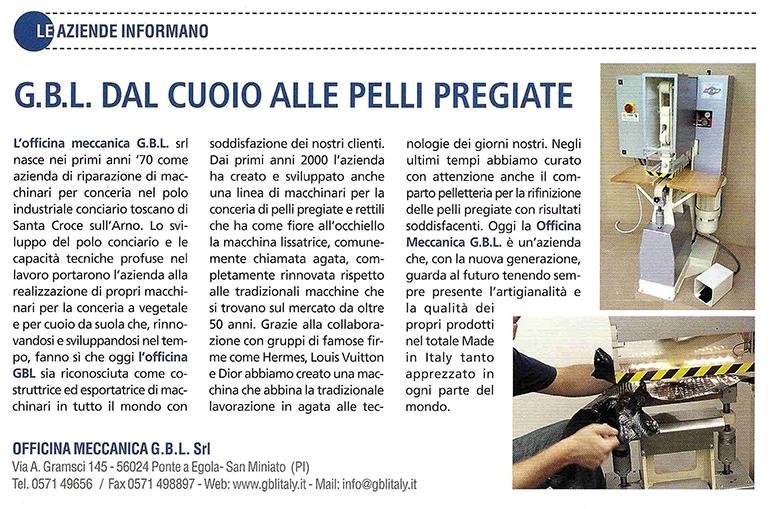Inserzione LA CONCERIA 01.2014